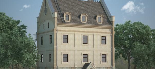 проект реконструкции здания мельницы вид 3