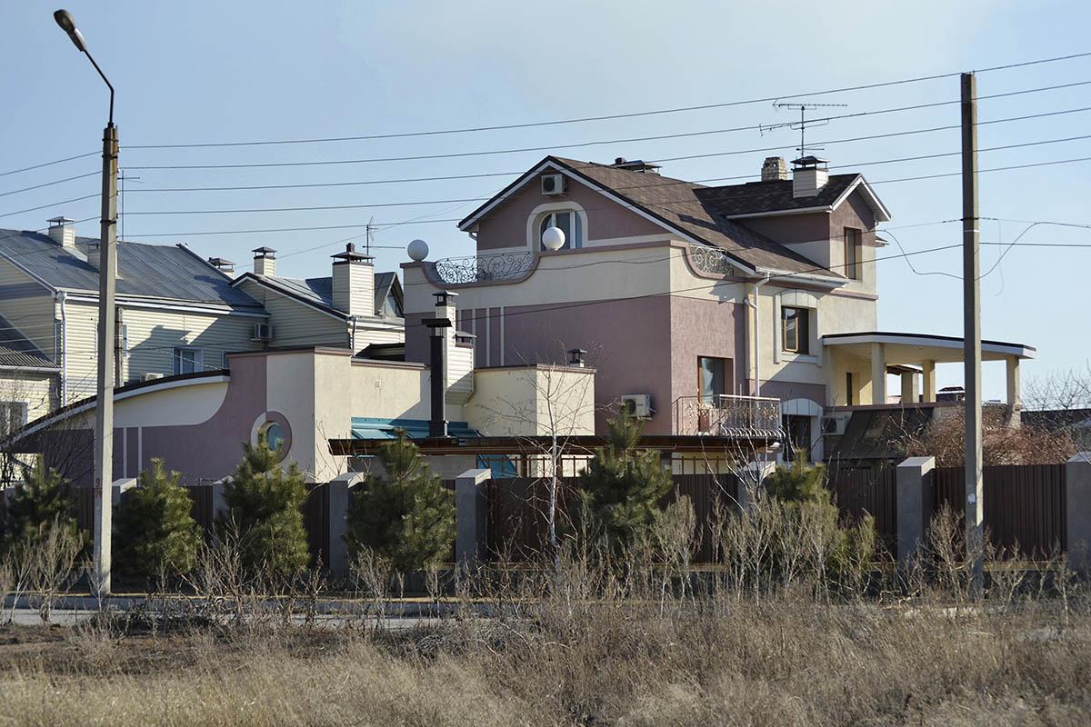 индивидуальный жилой дом в стиле модерн вид а_