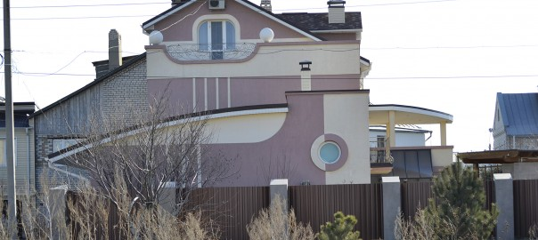 индивидуальный жилой дом в стиле модерн вид б