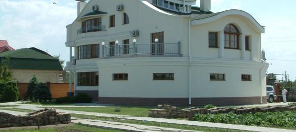 индивидуальный жилой дом в стиле модерн вид6
