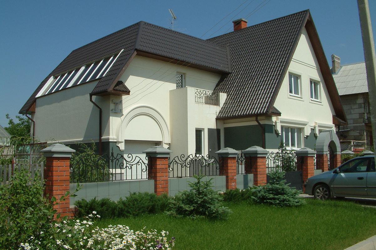 индивидуальный жилой дом в стиле прованс вид6