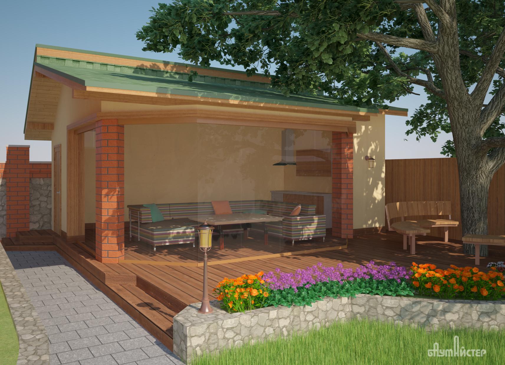 проект летней кухни1